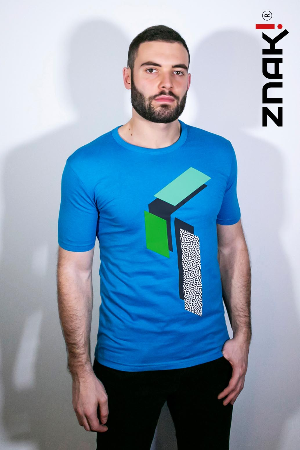 tshirt znak - satellite